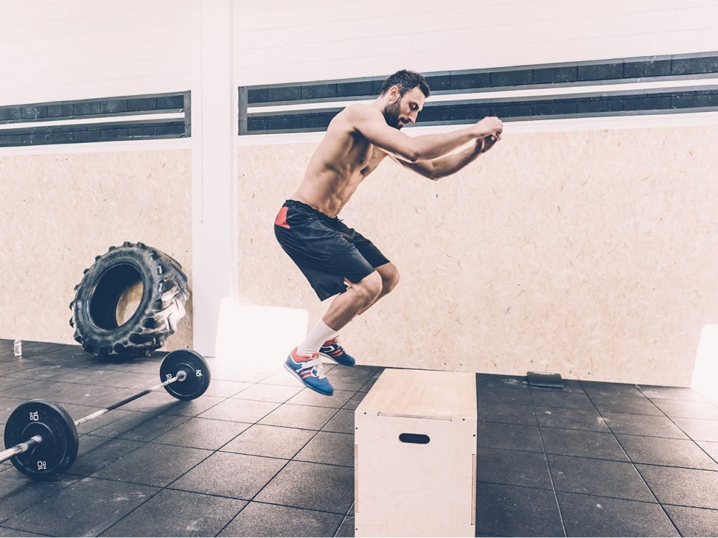pliometrie jump boxe