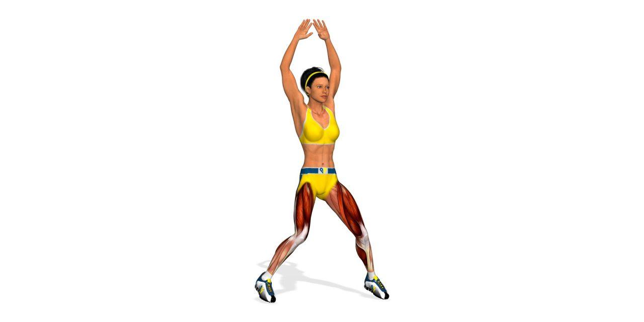 Le jumping jack : idéal pour se muscler et s'affiner