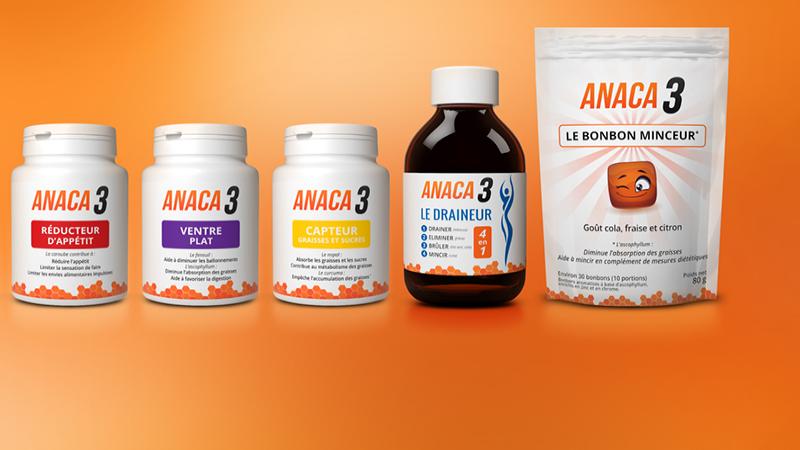 Large gamme de produits Anaca3