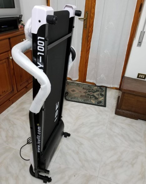 ISE SY 1001 velo appartement test